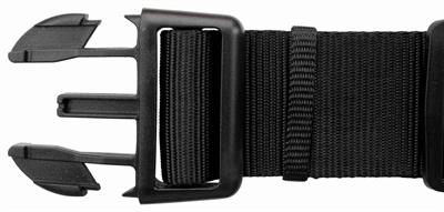 Trixie halsband hond premium zwart (40-65X2,5 CM)