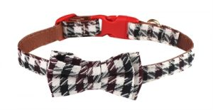 Croci halsband hond bordeaux braid (25X1 CM)