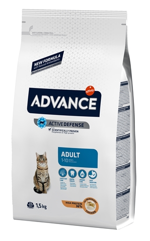 Advance cat adult chicken / rice (1,5 KG)
