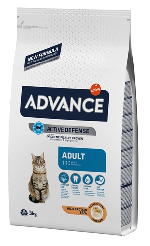 Advance cat adult chicken / rice (3 KG)