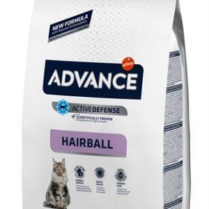 Advance cat hairball turkey / rice (1,5 KG)