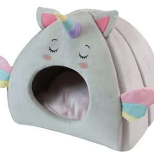 Croci kattenmand iglo fluffy unicorn (43X33X39 CM)