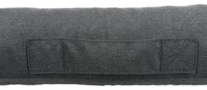 Trixie hondenmand pulito vitaal grijs (100X80 CM)