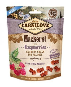 Carnilove crunchy snack makreel / framboos (200 GR)