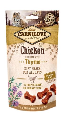 Carnilove soft snack kip / tijm (50 GR)