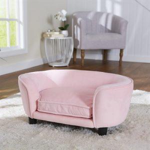 Enchanted hondenmand / sofa coco roze (67,5X40,5X30,5 CM)
