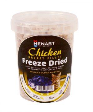 Henart freeze dried chickenbreast fillet (90 GR)