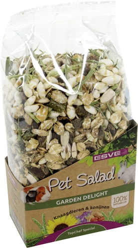 Esve pet salad garden delight (175 GR)