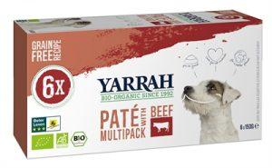 Yarrah dog alu pate multipack beef/chick (6X150 GR)