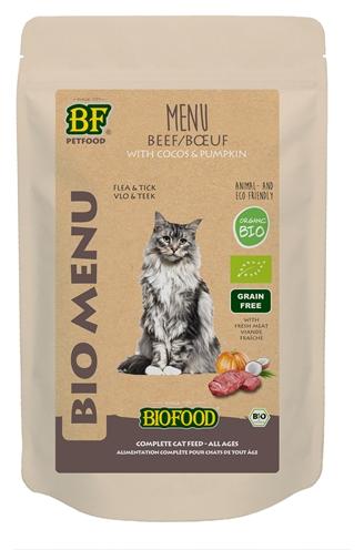 Biofood organic kat rund menu pouch (20X100 GR)