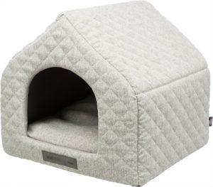 Trixie hondenmand huis noah vitaal schuimrubber lichtgrijs (40X43X45 CM)