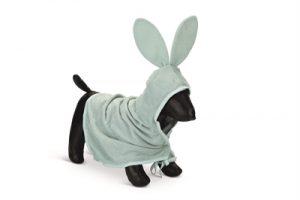 Beeztees puppy badjas foompie groen (60X35 CM)