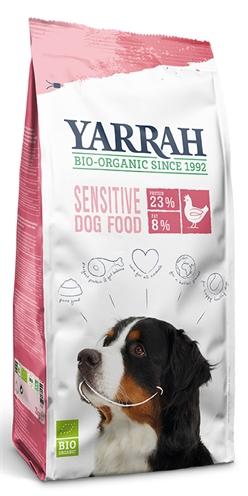 Yarrah dog biologische brokken sensitive kip (2 KG)