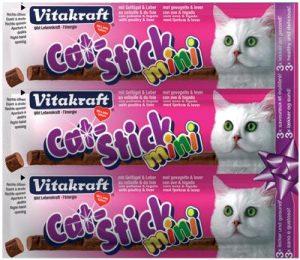Vitakraft cat-stick mini gevogelte met lever (3 ST)