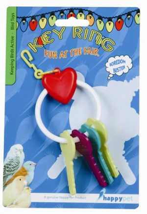 Happy pet fun at the fair key ring (17X6X4 CM)