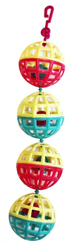 Happy pet fun at the fair multi ball toy (20X4X4 CM)