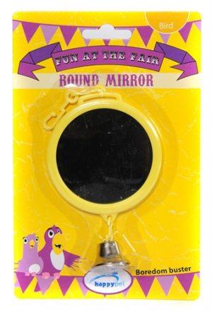 Happy pet fun at the fair round mirror (15X7,5X2 CM)