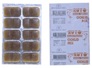 Ruto blue label cichlid mix (100 GR)