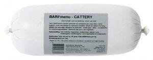 Barfmenu cattery kattenvoer (10X1000 GR)