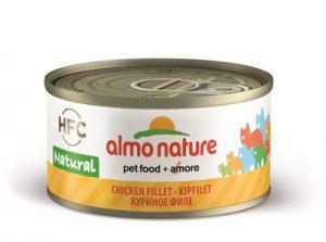 Almo nature cat kipfilet (24X70 GR)