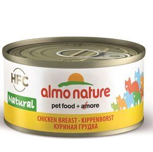 Almo nature cat kippenborst (24X70 GR)