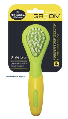 Happy pet knaagdier bristle brush (13X4X3 CM)