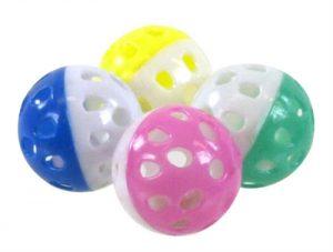 Ballen met bel zwaar model (4 CM 4 ST)