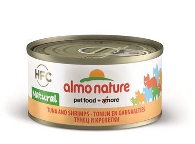 Almo nature cat tonijn/garnalen (24X70 GR)