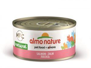 Almo nature cat zalm (24X70 GR)