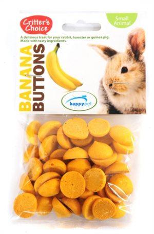 Critter's choice banana buttons (40 GR)