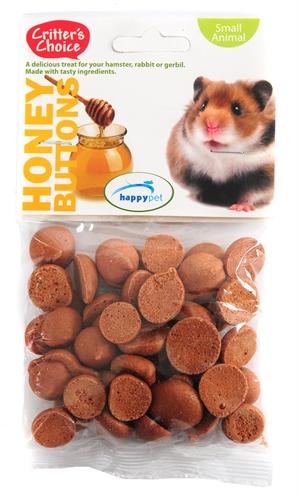 Critter's choice honey buttons (40 GR)