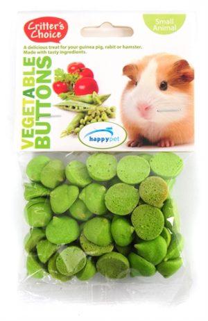 Critter's choice vegetable buttons (40 GR)
