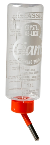 Classic drinkfles plastic konijn (1000 ML)