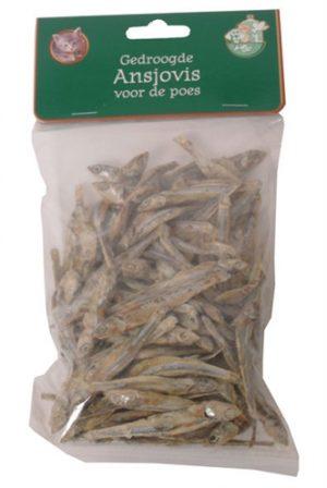 Gedroogde ansjovis (100 GR)