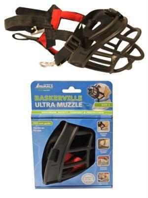 Baskerville ultra muzzle muilkorf (NR 4)