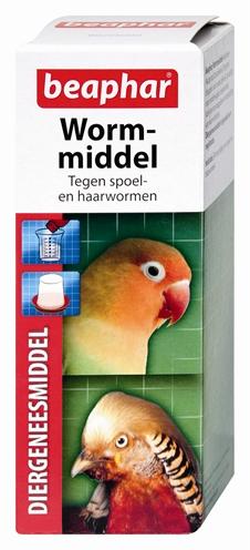 Beaphar wormmiddel voor vogels en knaagdieren (100 ML)