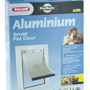Petsafe kattenluik tot 7 kg aluminium wit (600)