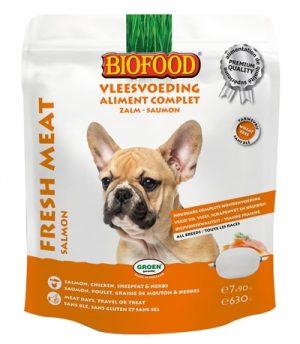 Biofood vleesvoeding zalm (630GR)