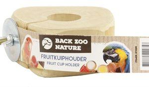 Back zoo nature fruitkuipje houder met schroef (15X13X4 CM)