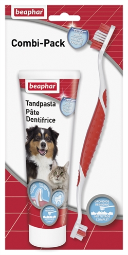 Beaphar tandpasta & borstel combipack