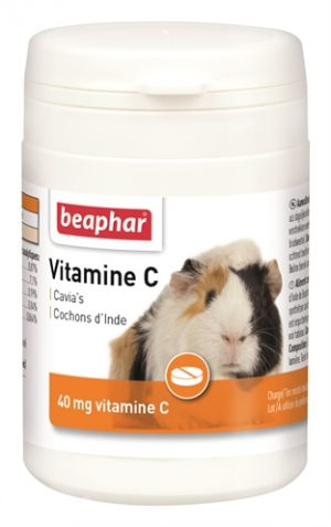 Beaphar vitamine c voor cavia (180 ST)