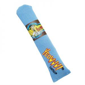 Yeowww sigaar met catnip blauw (18 CM)