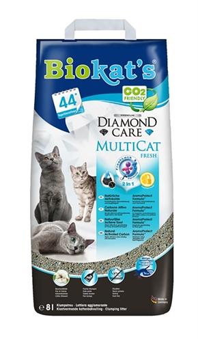 Biokat's diamond care multicat (8 LTR)