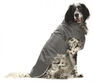 Croci hondenjas regenjas montreal grijs (55 CM)