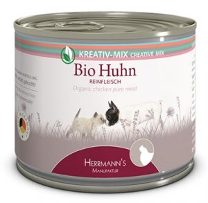 Herrmanns bio pure chicken (200 GR)