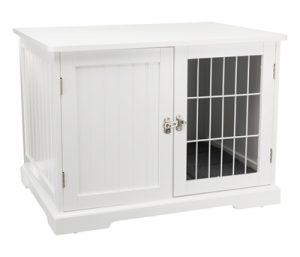 Trixie benche home kennel hond / kat wit (73X53X53 CM)
