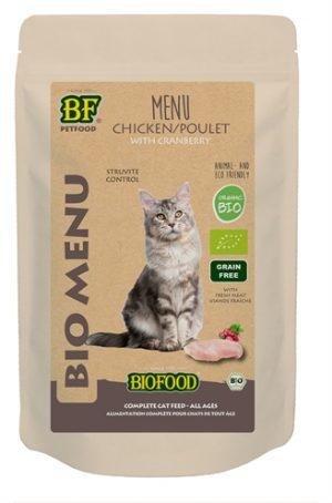 Biofood organic kat kip menu pouch (20X100 GR)