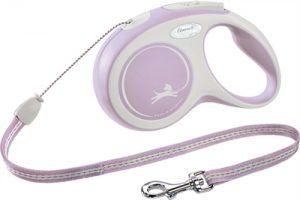 Flexi rollijn new comfort cord roze (S 8 MTR TOT 12 KG)