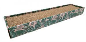 Croci krabplank homedecor textuur bladeren groen (48X12,5X5 CM)