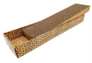 Croci krabplank homedecor dierenprint luipaard (48X12,5X5 CM)